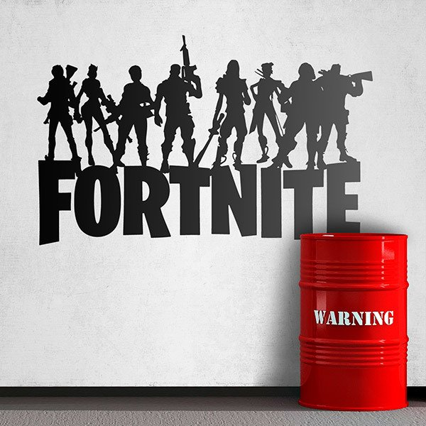 Stickers muraux: Fortnite Battle Royale 0