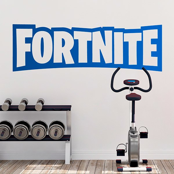 Stickers muraux: Fortnite logo