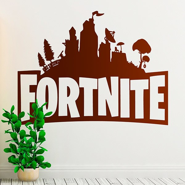 Stickers muraux: Abris Fortnite