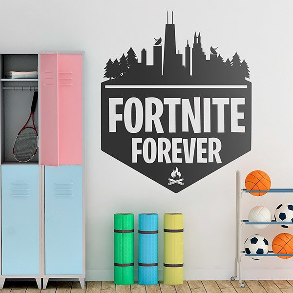 Stickers muraux: Fortnite Forever