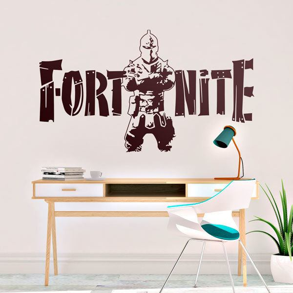 Stickers muraux: Guerrier Fortnite
