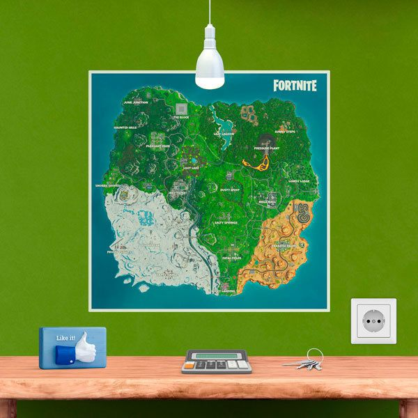 Stickers muraux: Fortnite Season 10