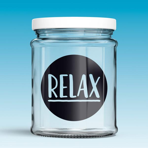 Stickers muraux: Relax