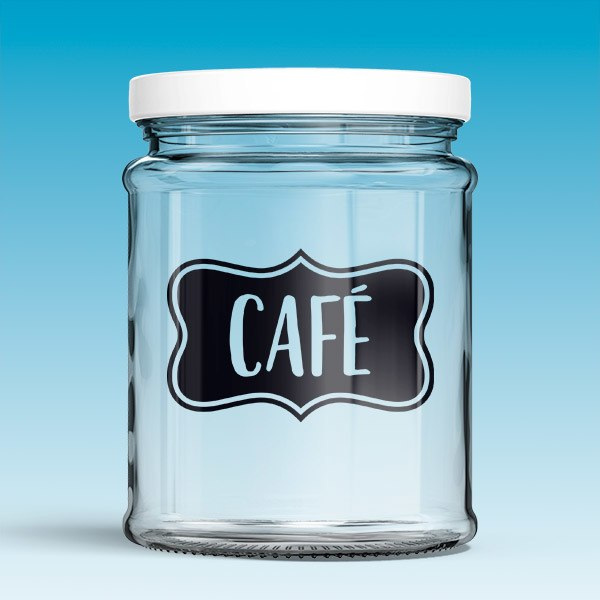 Stickers muraux: Café