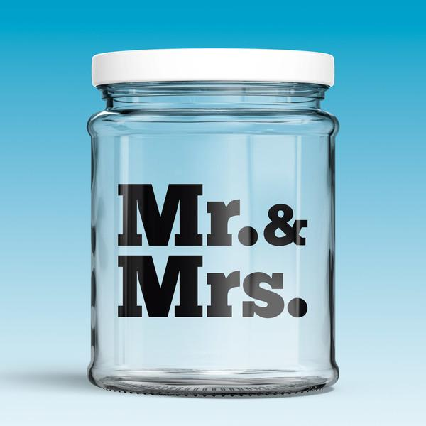 Stickers muraux: Mr. & Mrs.