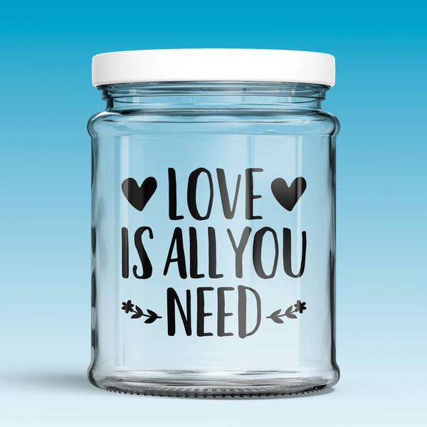 Stickers muraux: Love is all you need