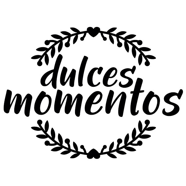 Stickers muraux: Dulces momentos