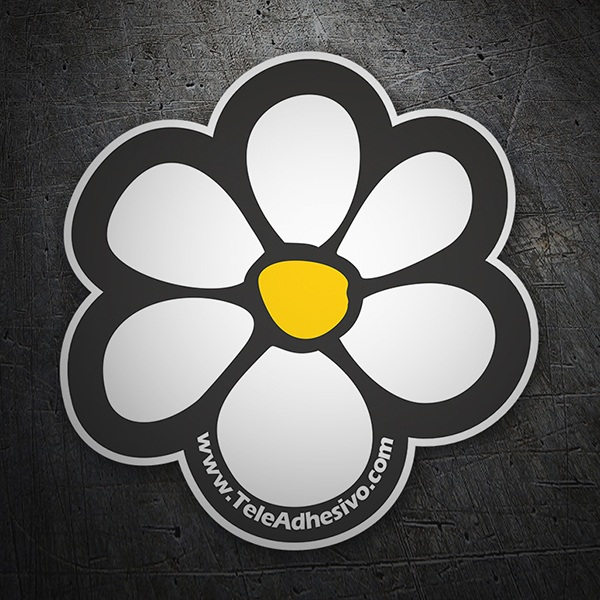 Stickers muraux: fleur WebStickersMuraux surf