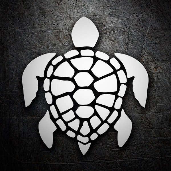 Stickers muraux: Tortue Surf