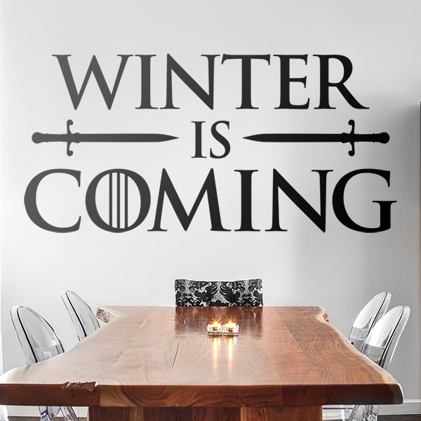 Stickers muraux: Winter is coming