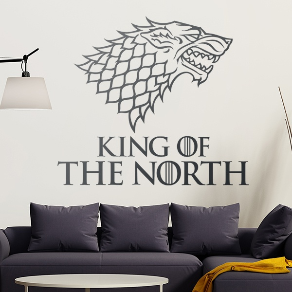 Stickers muraux: King of the North