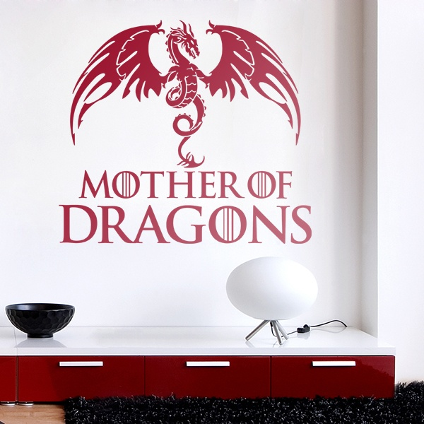 Stickers muraux: Mother of Dragons