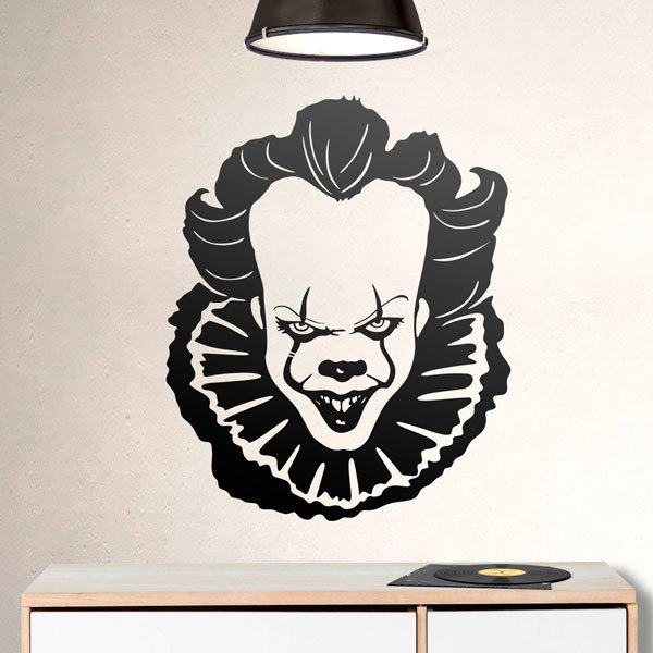 Stickers muraux: Pennywise (It)
