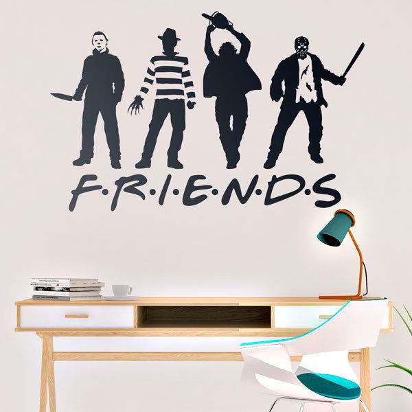 Stickers muraux: Terror Friends