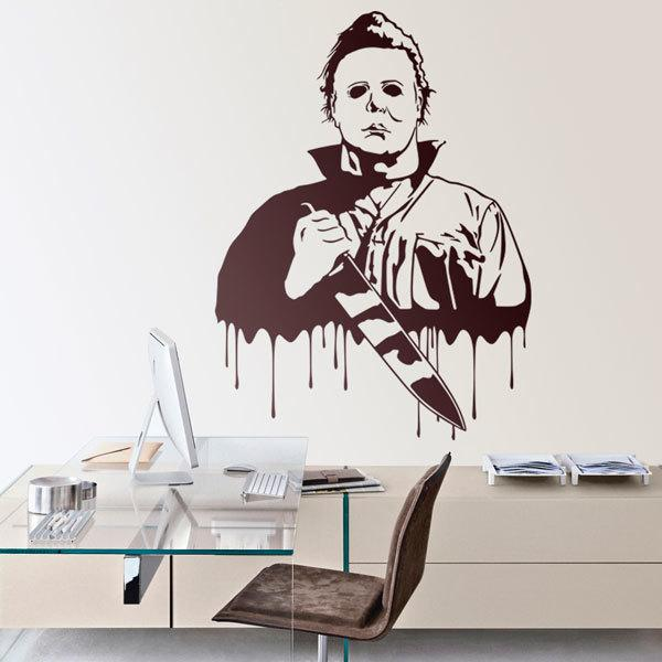 Stickers muraux: Michael Myers (Halloween)