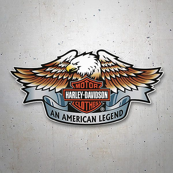 Autocollants: Harley Davidson an American Legend