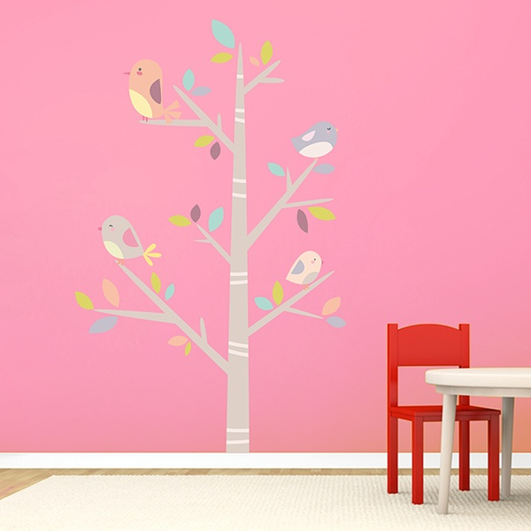 stickers muraux arbre pour enfants. Black Bedroom Furniture Sets. Home Design Ideas
