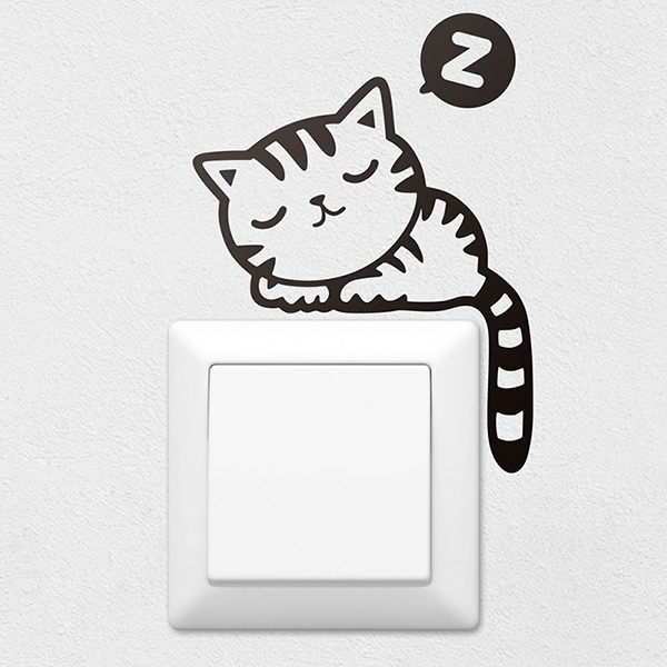 Stickers muraux: Chaton
