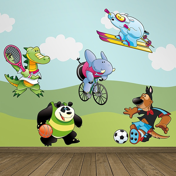 Stickers pour enfants: Sports