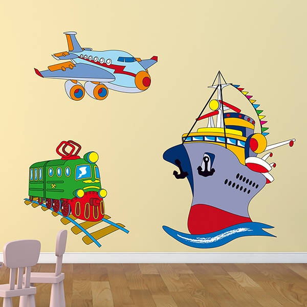 Stickers pour enfants: Transport 05