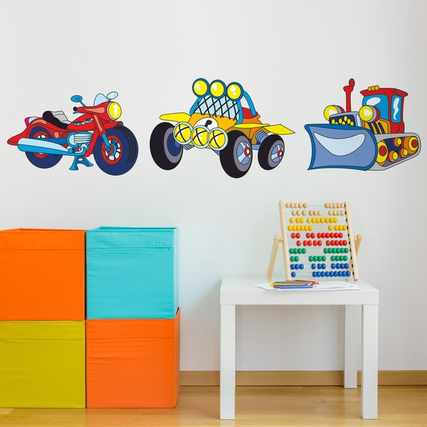 Stickers pour enfants: Transport 06