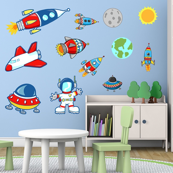 Stickers pour enfants: Space