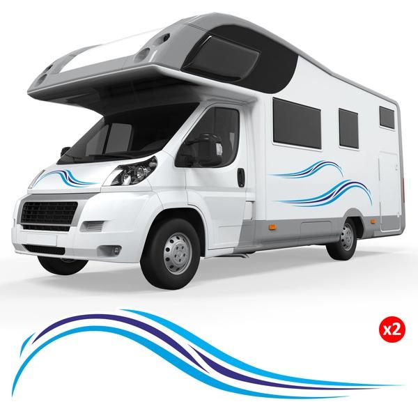 autocollants camping car et caravane. Black Bedroom Furniture Sets. Home Design Ideas