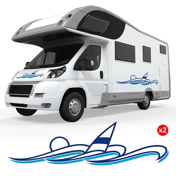 FORD TRANSIT CAMPING-CAR CAMPING-CAR 013 Graphique Stickers Autocollants VINYL NEUF