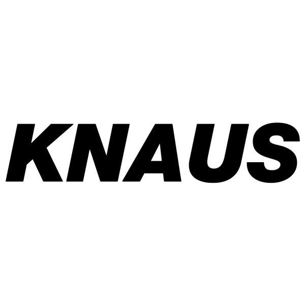 Autocollants: Knaus Campers