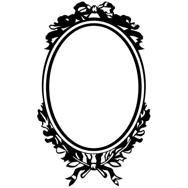 stickers muraux miroir. Black Bedroom Furniture Sets. Home Design Ideas