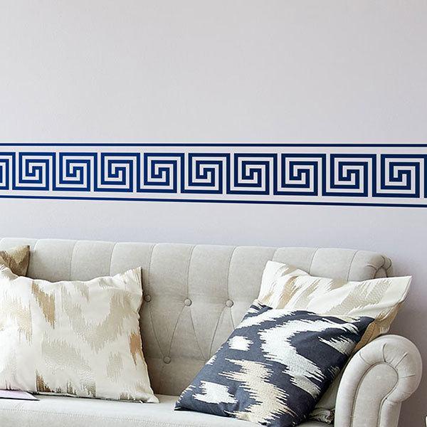 Stickers Muraux: Frise Murale Grecque