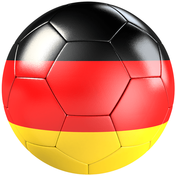 ballon de football drapeau de l 39 allemagne. Black Bedroom Furniture Sets. Home Design Ideas