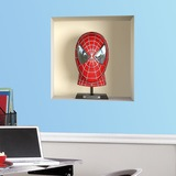 Stickers muraux: Spiderman buste niche 3