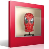 Stickers muraux: Spiderman buste niche 4