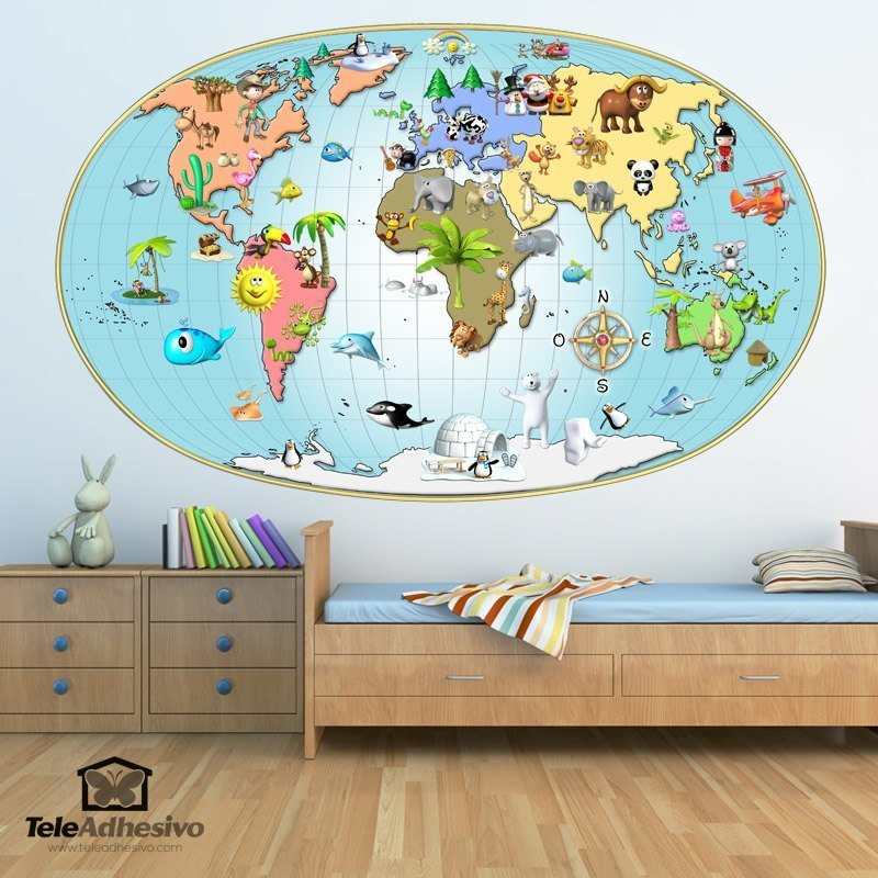 carte du monde. Black Bedroom Furniture Sets. Home Design Ideas