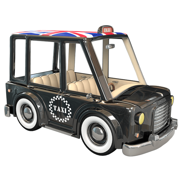 Stickers pour enfants: London Taxi