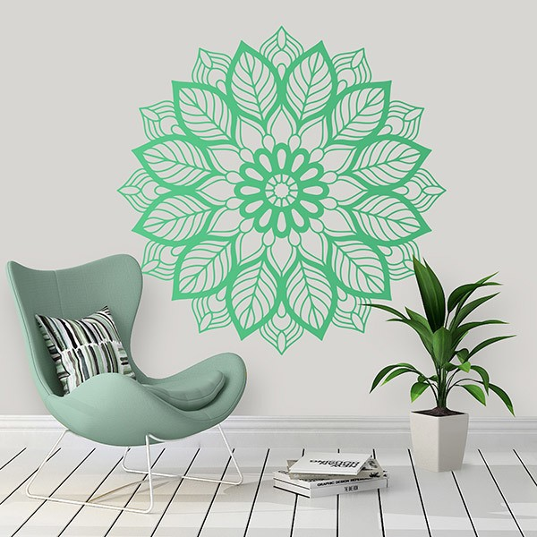 Stickers muraux: Mandala elliptique