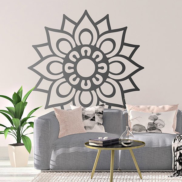 Stickers muraux: Mandala simple
