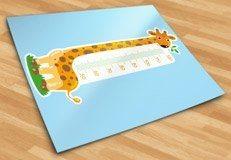 Stickers pour enfants: Mètres girafe 3 5