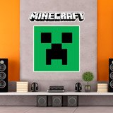 Stickers muraux: Minecraft logo 3