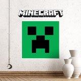 Stickers muraux: Minecraft logo 4