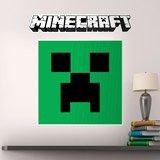 Stickers muraux: Minecraft logo 5