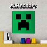 Stickers muraux: Minecraft logo 6