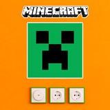 Stickers muraux: Minecraft logo 7