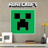 Stickers muraux: Minecraft logo 8