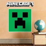 Stickers muraux: Minecraft logo 9