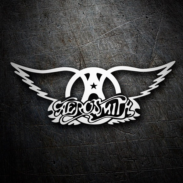 Autocollants: Aerosmith Rock Metal