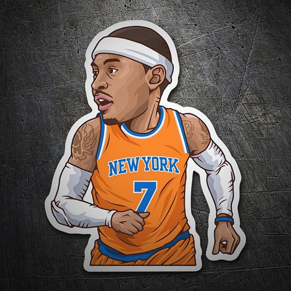 Autocollants: NBA - Carmelo Anthony 1