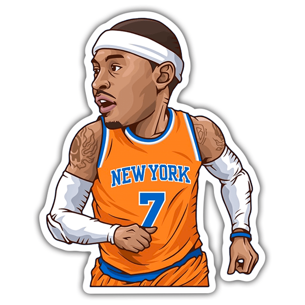 Autocollants: NBA - Carmelo Anthony