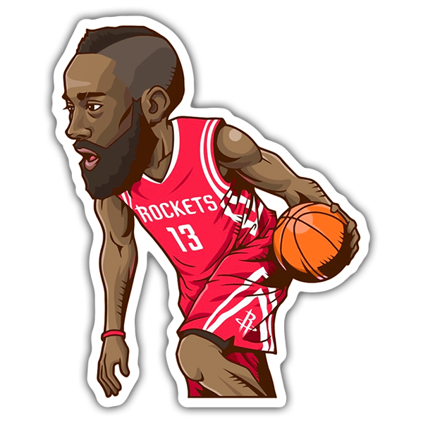Autocollants: NBA - James Harden